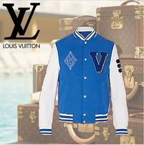 数量限定 VUITTON ヴィトン  EMBROIDERED VARSITY JACKET