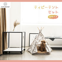 HUTS AND BAY ☆ TEEPEE TENT ティピーテントセット =Mサイズ=
