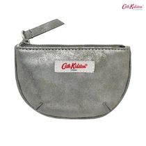 Cath Kidston☆HALF MOON COIN PURSE SOLID CHARCOAL