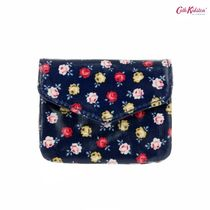Cath Kidston☆EVERYDAY PURSE LUCKY ROSE NAVY