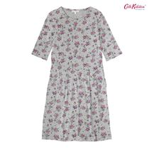 COTTON JERSEY DROPPED WAIST DRESS TINKER BELL POSY