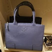 2018SS♪ Tory Burch ★ ELLA CANVAS LEATHER TOTE