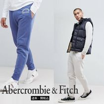 Abercrombie & Fitch ロゴプリント カフジョガー