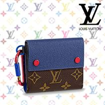18SS《Louis Vuitton》★コンパクト ウォレット★ モノグラム柄