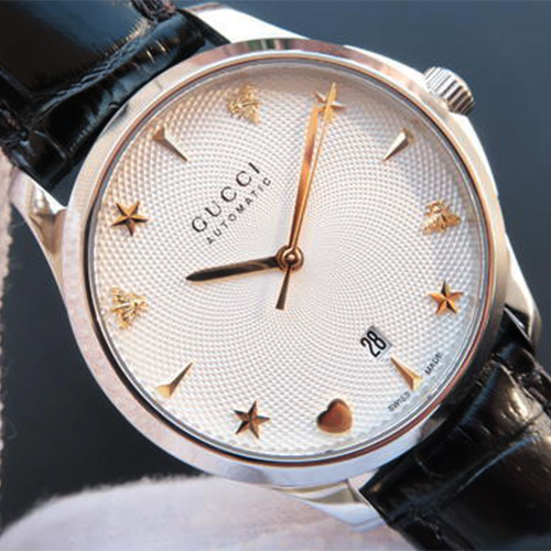 2a0ee4ab3d2 ... 人気☆GUCCI G-Timeless Automatic Unisex Watch YA126468(5).  ※商品画像をクリックすると拡大画像が表示されます