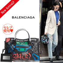 VIPセール♪♡BALENCIAGA Graffiti Classic Cityスモール