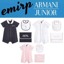 ☆18SS☆ARMANI JUNIOR★BABY★ショートロンパースギフトセット