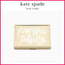 最新18SS☆kate spade☆we're talking 名刺入れ