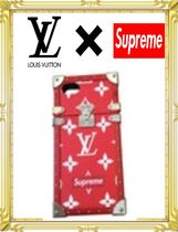 ♢LOUIS VUITTON X SUPREME iphone7ケース♦
