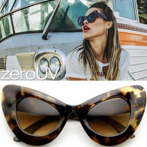 全6色*zeroUV*RETRO MOD SUPER TRENDY CAT EYE SUNGLAS*送料無料