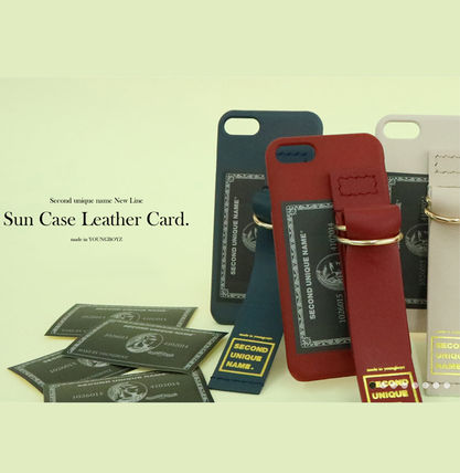 SECOND UNIQUE NAME iPhone・スマホケース 【NEW】「SECOND UNIQUE NAME」LEATHER CARD EDITION 正規品(4)