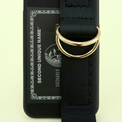 SECOND UNIQUE NAME iPhone・スマホケース 【NEW】「SECOND UNIQUE NAME」LEATHER CARD EDITION 正規品(6)