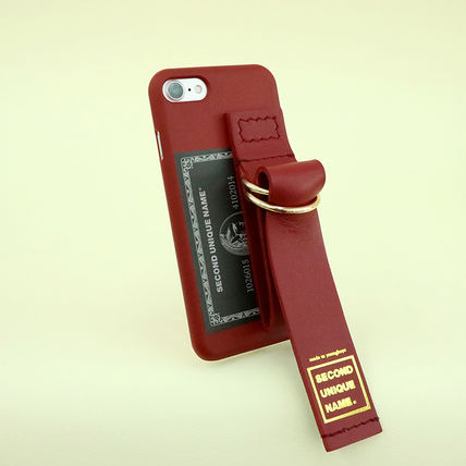 SECOND UNIQUE NAME iPhone・スマホケース 【NEW】「SECOND UNIQUE NAME」LEATHER CARD EDITION 正規品(7)