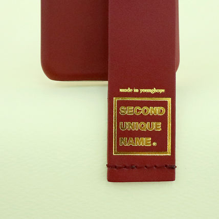 SECOND UNIQUE NAME iPhone・スマホケース 【NEW】「SECOND UNIQUE NAME」LEATHER CARD EDITION 正規品(8)