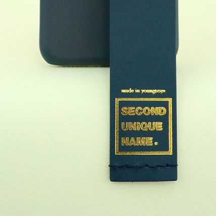 SECOND UNIQUE NAME iPhone・スマホケース 【NEW】「SECOND UNIQUE NAME」LEATHER CARD EDITION 正規品(10)