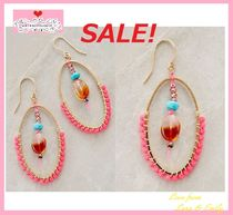 最終SALE☆ラス1即納☆超レア【Anthro】Blushed Droplet Hoops