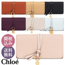 【送料込】Chloe(クロエ)♡ALPHABET LONG WALLET