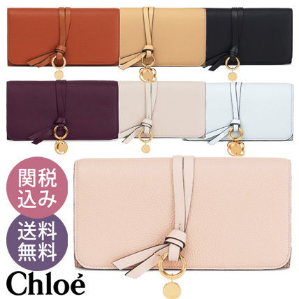 【送料込】Chloe(クロエ)〓ALPHABET LONG WALLET