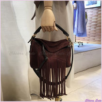 【18SS NEW】LOEWE_women / Puzzle Fringes/ スエードバッグ