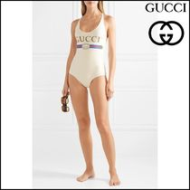 【GUCCI(グッチ)】Printed swimsuit
