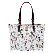 Mickey and Minnie Mouse Sweethearts Tote by Dooney & Bourke