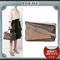 18SS/送料込≪LOEWE≫ PUZZLE XL カラーブロック バッグ