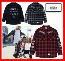 韓国人気【STIGMA】☆ GHOST WORK SHIRTS ★UNISEX☆3色★