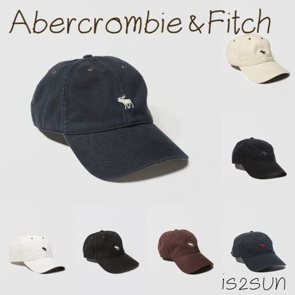 Abercrombie & Fitch キャップ ☆日本未入荷☆ 新作 アバクロ/ BRUSHED TWILL HAT キャップ