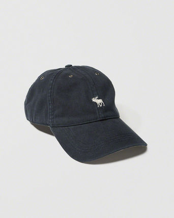 Abercrombie & Fitch キャップ ☆日本未入荷☆ 新作 アバクロ/ BRUSHED TWILL HAT キャップ(4)