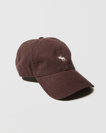 Abercrombie & Fitch キャップ ☆日本未入荷☆ 新作 アバクロ/ BRUSHED TWILL HAT キャップ(6)
