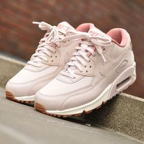 【Nike】W AIR MAX90 LEATHER★ライトピンク 921304-600