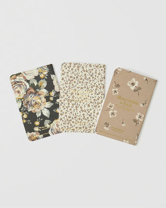 Abercrombie & Fitch ノート ☆日本未入荷☆ 最新作 アバクロ/ FIELD NOTES 3-PACK 花柄(2)