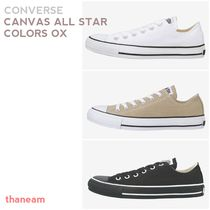 ★CONVERSE★CANVAS ALL STAR COLORS OX キャンバスオールスター