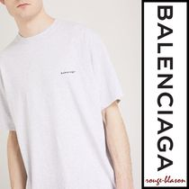 【国内発送】Balenciaga Tシャツ Logo-print cotton-jersey