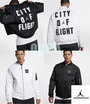 NIKE MEN JORDAN SPORTSWEAR CITY OF FLIGHT ボンバージャケット