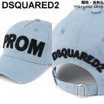【国内発送】D SQUARED2★Prom embroidered baseball cap