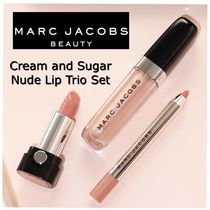 MARC JACOBS(マークジェイコブス) リップグロス・口紅 【MARC JACOBS】Cream and Sugar ヌードリップ3点セット