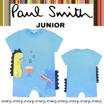 ☆18SS☆PAUL SMITH★BABYBOYS★恐竜ショートロンパース