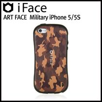【在庫一掃セール】iFace ART FACE Military_iPhone 5S/5