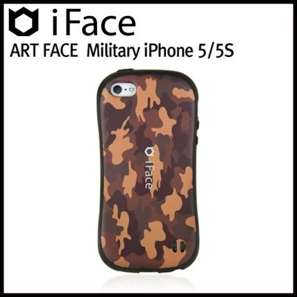iFace iPhone・スマホケース 【在庫一掃セール】iFace ART FACE Military_iPhone 5S/5