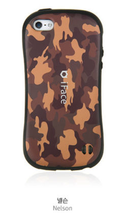 iFace iPhone・スマホケース 【在庫一掃セール】iFace ART FACE Military_iPhone 5S/5(2)