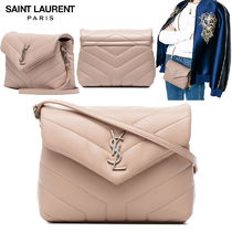 【正規品保証】SAINT LAURENT★18春夏★MONOGRAM MINI BAG_PINK