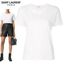 【正規品保証】SAINT LAURENT★18春夏★HEART CUT T-SHIRT_WHITE