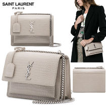 【正規品保証】SAINT LAURENT★18春夏★MONOGRAM BAG_IVORY