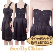 【送関込】See By Chloe★Embellished Bustier Dress★国内発送