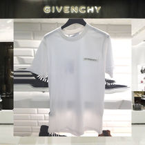 【18SS NEW】 GIVENCHY_men /GIVENCHY SEQUINS PATCHTシャツWT