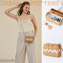 ☆日本未入荷☆ 新作 UO/ Straw Structured Crossbody Bag