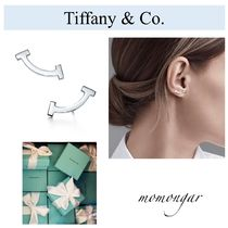 [Tiffany & Co.]未入荷♪Tiffany T Smile Earrings♪シルバー