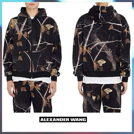 "★セール☆BTS愛用 ★Alexander Wang☆""Winter Camo""フーディ"
