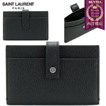 【正規品保証】SAINT LAURENT★18春夏★SOUPLE CARD CASE_BLACK